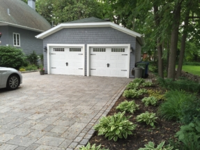 After-Driveway and Garage
